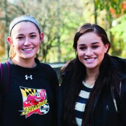Paige Brown and Sienna Medina