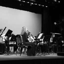 Various EU music groups performed at the Winter Music Festival on Dec. 2 and 3.