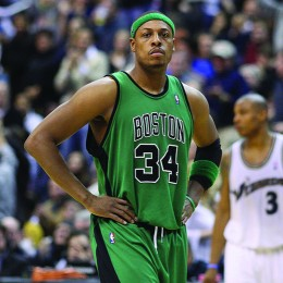 Pierce, pictured here in 2008 with the Boston Celtics, will close out his NBA career in 2017 with the Los Angeles Clippers.