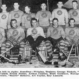 The 1929-30 Philadelphia Arrows.