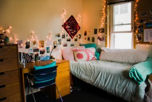 Eastern dorms become a home for students during  the  year.