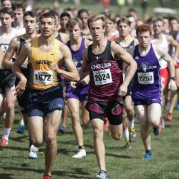Eastern University's Greg Thomas runs for school record at Paul Short Invitational on Friday, Sept. 29.